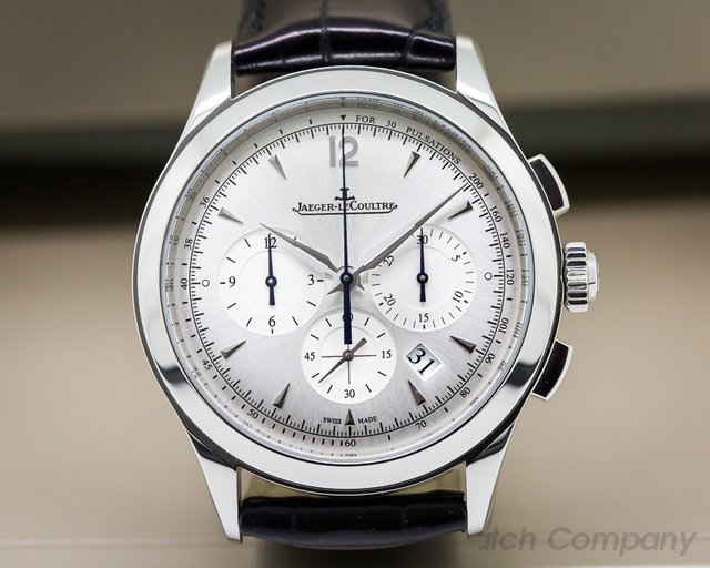 Jaeger LeCoultre Q1538420 Master Chronograph SS Silver Dial