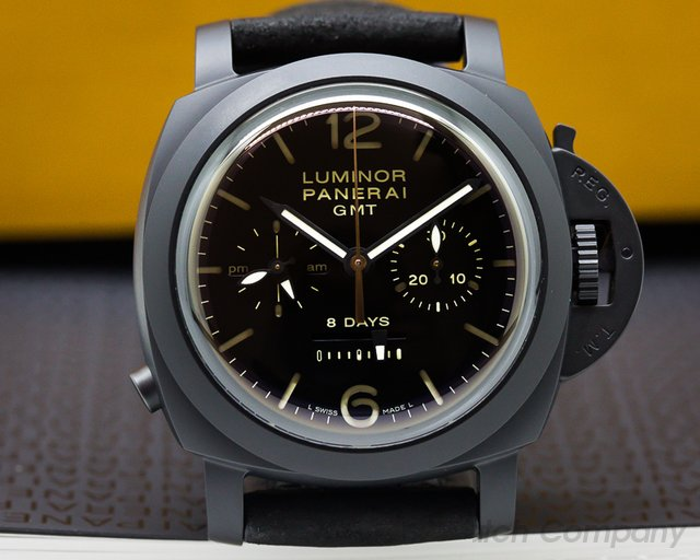 Panerai PAM 317 Luminor 1950 Chrono Monopulsante 8 Days GMT