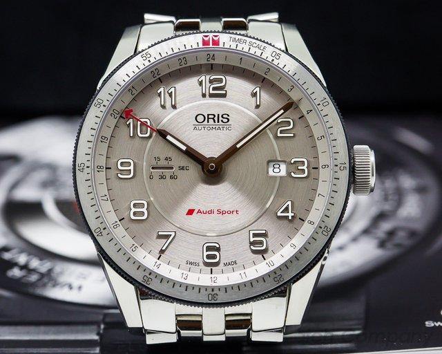 Oris Artix GT GMT Silver Dial SS