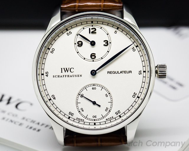 IWC Portuguese Regulator Vintage Collection SS