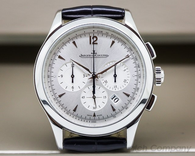 Jaeger LeCoultre Master Chronograph SS Silver Dial