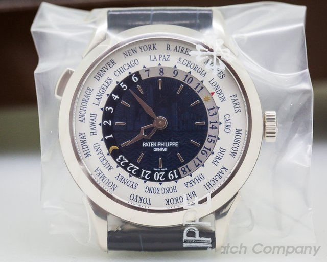 "Patek Philippe 5230G World Time White Gold ""New York 2017 Special Edition"""