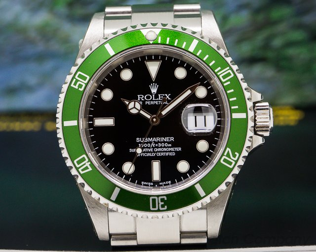 "Rolex 16610 LV ""FLAT 4"" Submariner 50th Anniversary F SERIES - STICKERS"