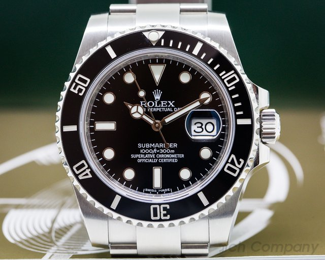 Rolex 116610 Submariner Ceramic Date SS / SS