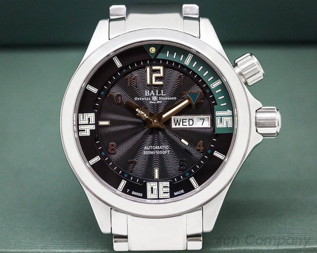 Ball DM2020A Engineer Master II Diver SS Black Dial