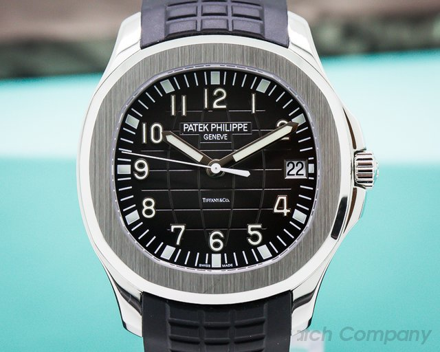 "Patek Philippe Aquanaut SS / Rubber ""TIFFANY & CO"""
