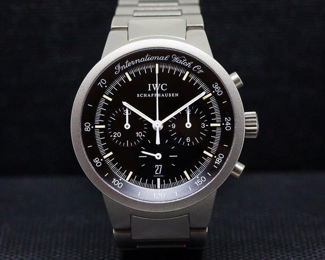 IWC 372702 GST Chronograph Quartz Black Dial Titanium