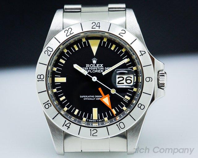 Rolex 1655 Explorer II Steve McQueen Freccione UNPOLISHED WOW