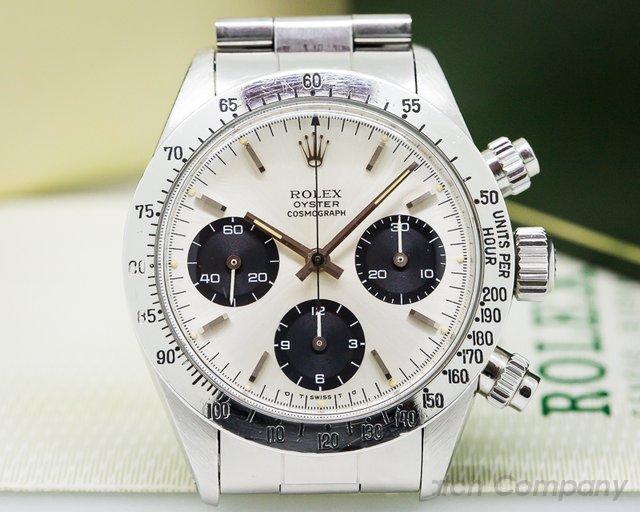 "Rolex 6265 Daytona Cosmograph ""SIGMA"" SIlver Panda Dial FULL SET"