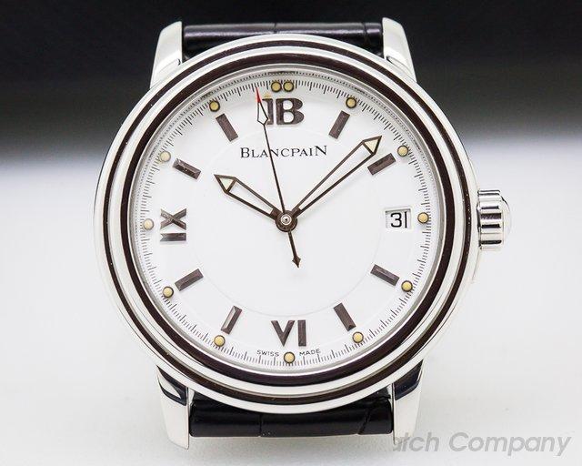 Blancpain Leman SS White Dial