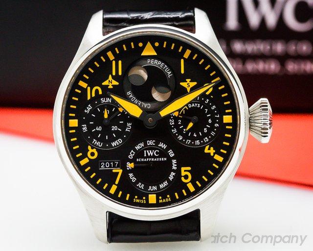 IWC Big Pilot OrangePerpetual Calendar SS LIMITED
