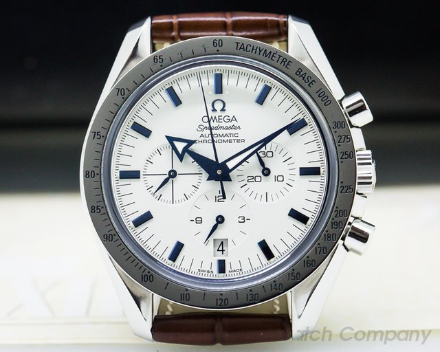 Omega 3851.20.12 Speedmaster Broad Arrow SS