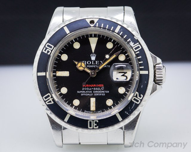 Rolex 1680 RED Submariner Meters First MKII