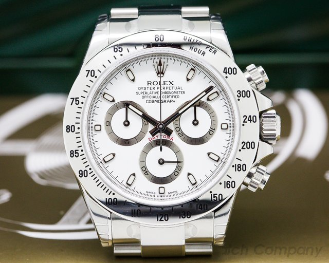 Rolex 116520 Daytona White Dial Collector Quality NEW OLD STOCK/FULL SET