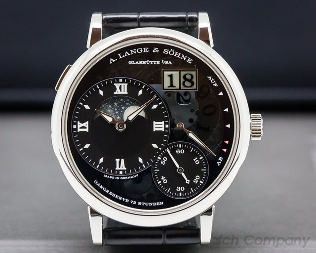 A. Lange and Sohne 139.035F Grand Lange 1 Moonphase Lumen Platinum