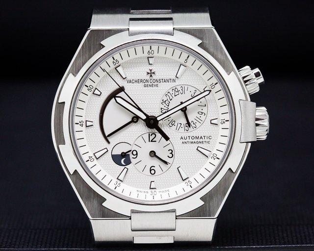 Vacheron Constantin Overseas Dual Time SS Silver Dial