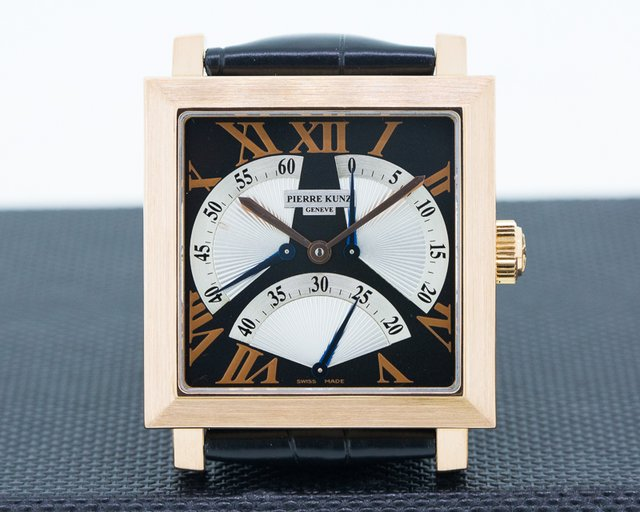 Pierre Kunz PKB002STR Rose Gold Retrograde Triple Seconds