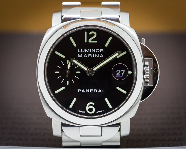 Panerai Luminor Marina 40mm Black Dial / Bracelet