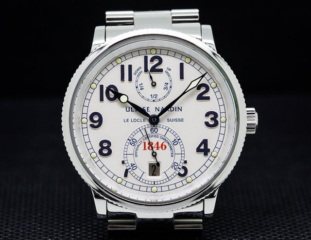 Ulysse Nardin Marine Chronometer 1846  SS / SS