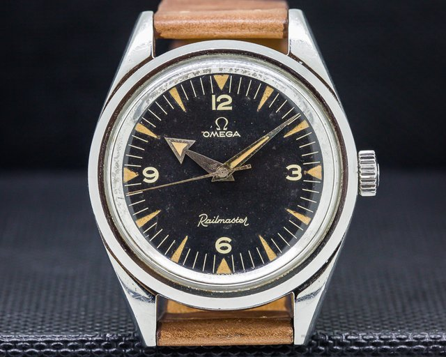 Omega Vintage 2914 Railmaster COLLECTOR CONDITION