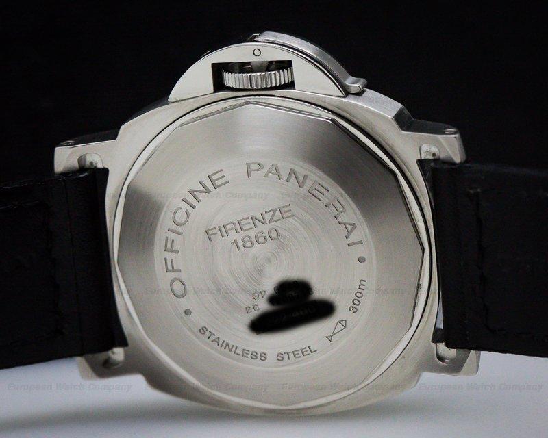 Panerai PAM00220 Luminor Marina Automatic Black Dial SS / SS