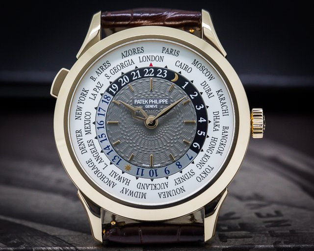 Patek Philippe World Time Rose Gold NEW Basel 2016 Release