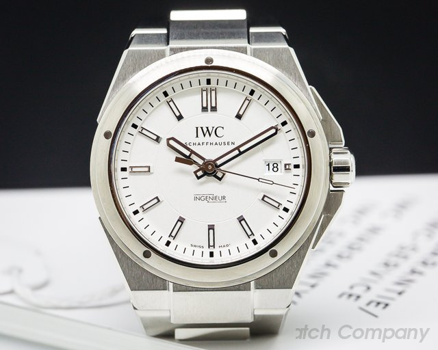 IWC Ingenieur Automatic Silver Dial SS