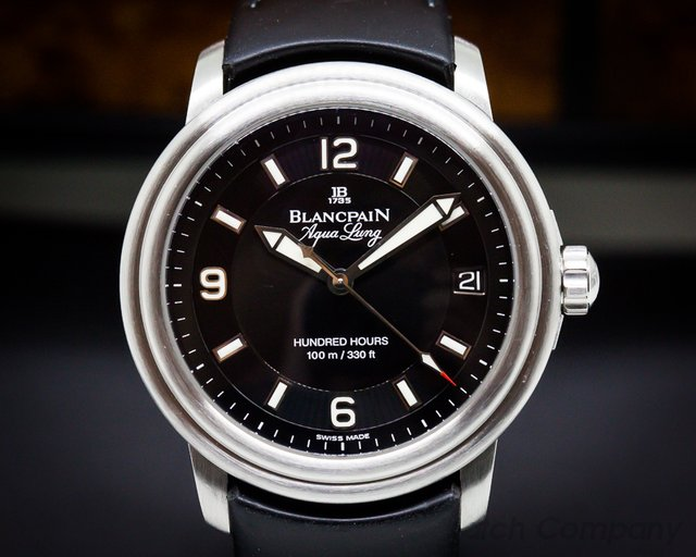 Blancpain Leman Aqualung Ultra Slim Automatic SS