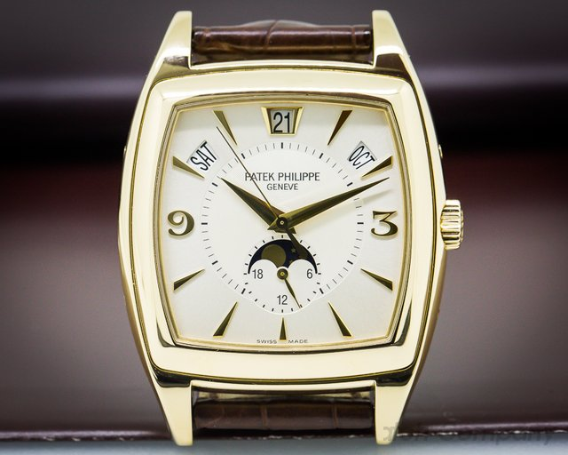 Patek Philippe Gondolo Calendario Cream Dial 18K Yellow Gold