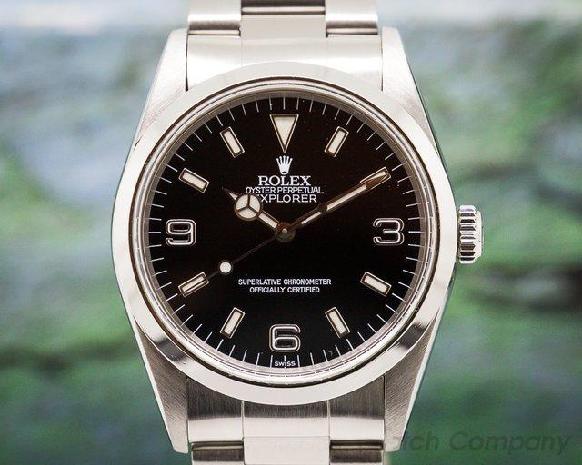 Rolex Explorer I 36MM SS / SS