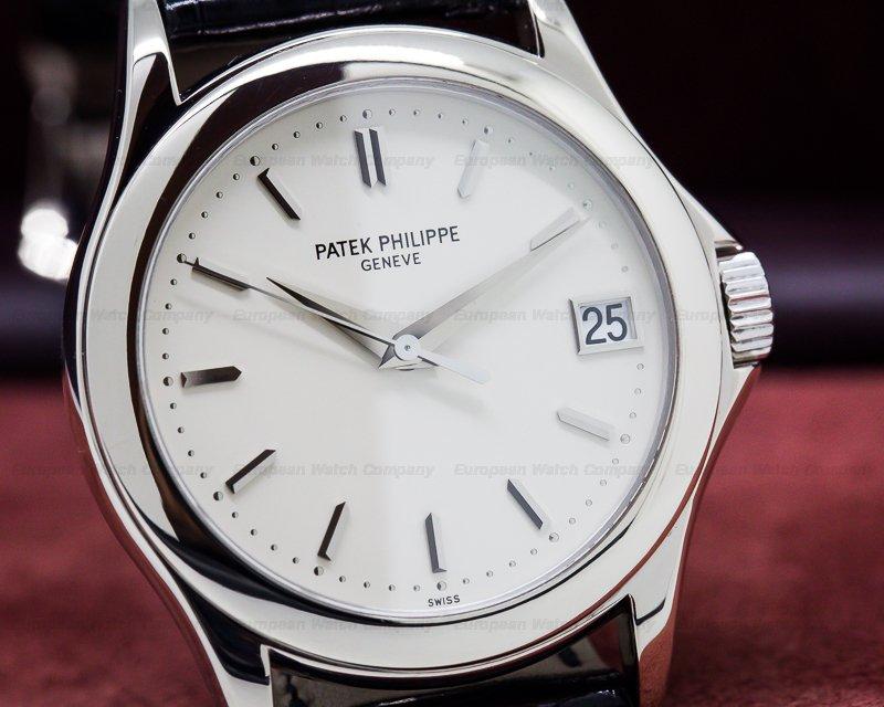Patek Philippe Calatrava White Gold (27017) Patek Philippe...