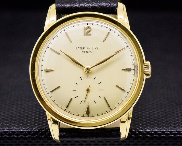 Patek Philippe Vintage Calatrava Manual Wind 18K Yellow