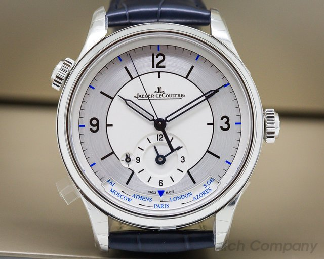 Jaeger LeCoultre Master Geographic SS SECTOR DIAL 39MM