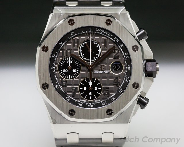 Audemars Piguet Royal Oak Offshore Slate-Grey Dial SS / Rubber UNWORN