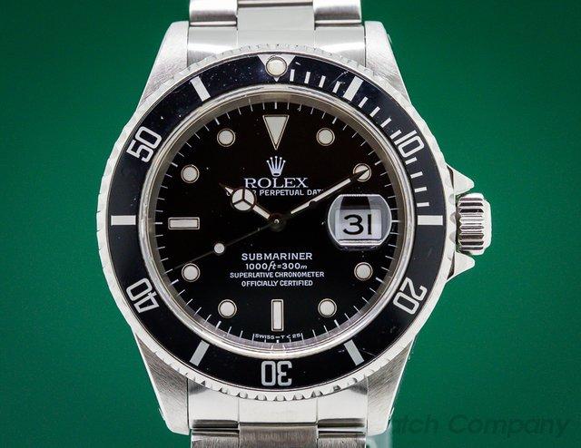 Rolex Submariner Date SS / SS