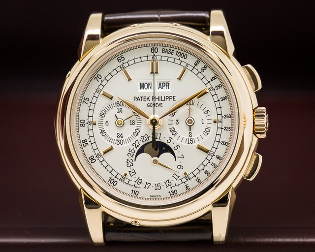 Patek Philippe 5970R-001 Perpetual Calendar Chronograph 18K Rose Gold FULL SET