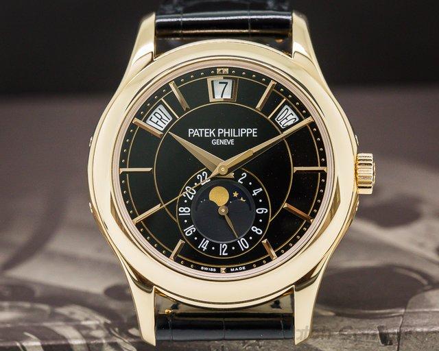 Patek Philippe Annual Calendar Black Dial