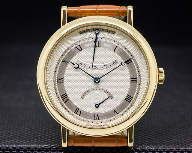 Breguet Classique Retrograde Seconds 18K Yellow Gold