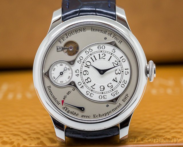 F. P. Journe 064-CO Chronometre Optimum Platinum / Silver Dial 42MM