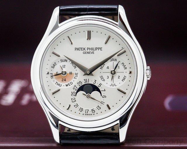 Patek Philippe Perpetual Calendar Platinum Amazing PATINA