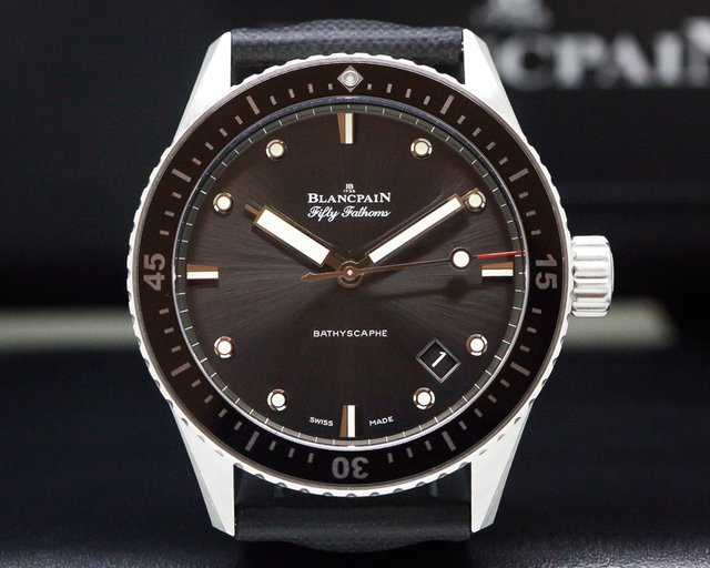 Blancpain Fifty Fathoms Bathyscaphe SS