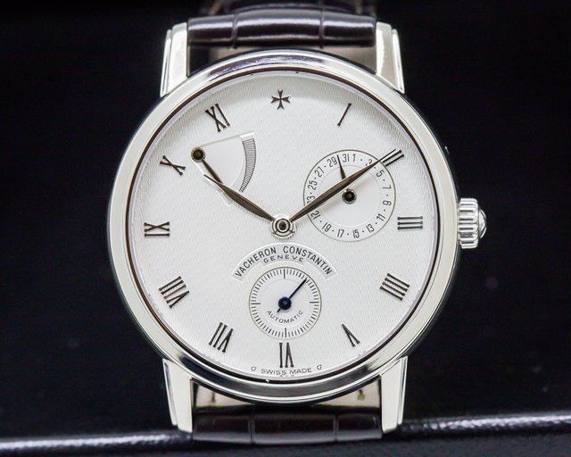 Vacheron Constantin Patrimony Power Reserve 18k White  Gold