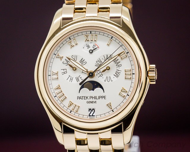 Patek Philippe Annual Calendar Moonphase 18K Rose Gold / Bracelet