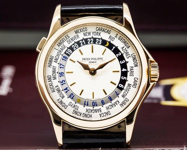 Patek Philippe World Time 18K Rose Gold