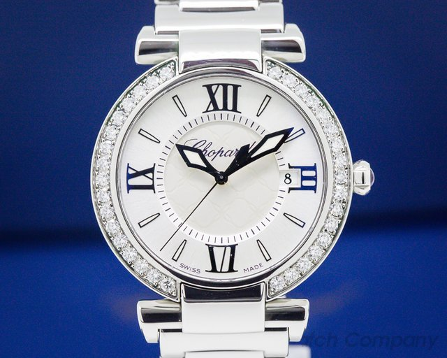 Chopard Imperiale quartz SS 36 MM Diamond Bezel