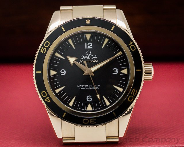 Omega Omega Seamaster 300M Master Co-Axial 18k / 18k 41MM