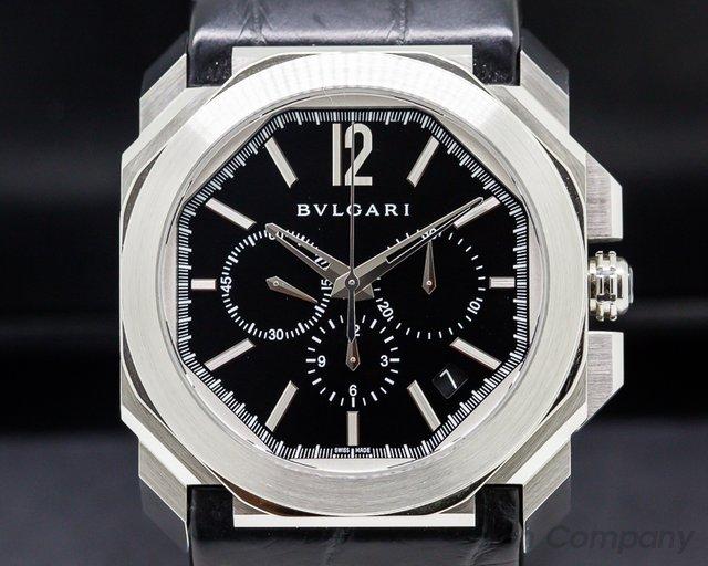 Bvlgari Octo Chronograph SS