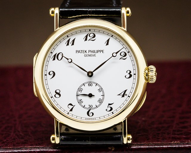 Patek Philippe Calatrava '150th Anniversary' 18K Yellow Gold