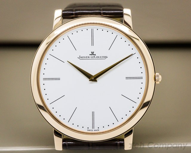 Jaeger LeCoultre Master Ultra Thin 1907 18k Rose Gold