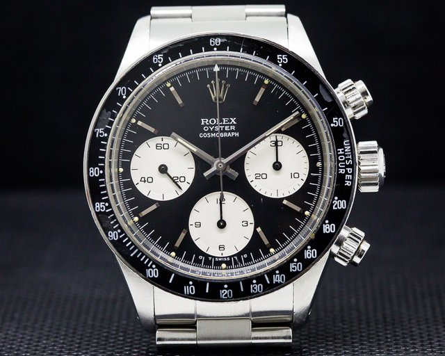Rolex Daytona 6263 MK1 Sigma Dial SS Excellent Condition Circa 1976